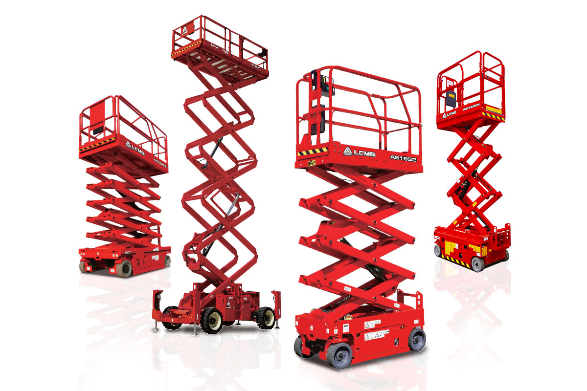 LGMG Scissor lift equipment